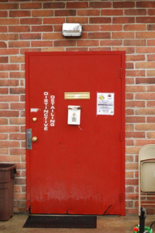 Distinctive Detailing Door